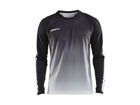 Craft Pro Control fade jersey ls men black/white 3xl