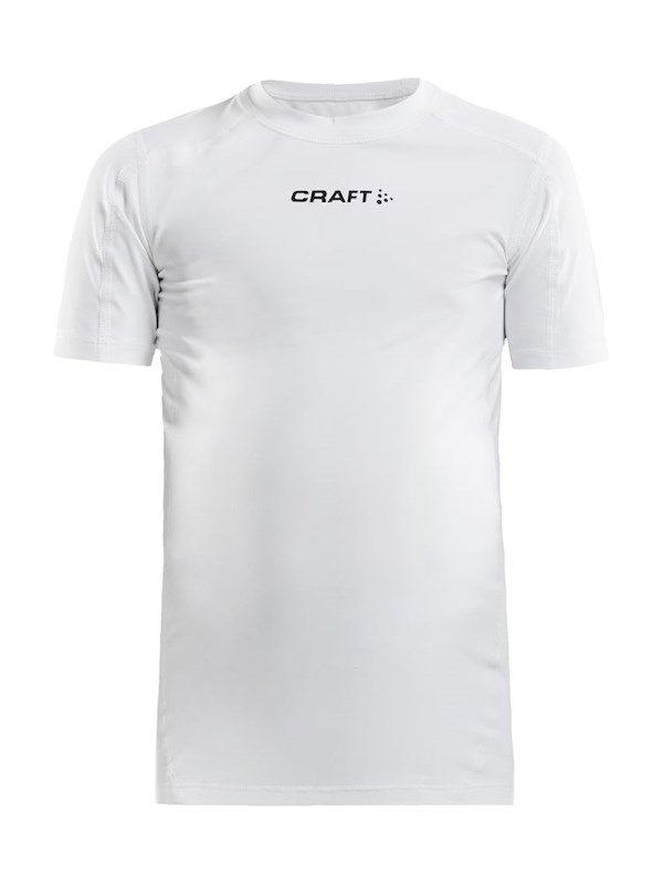 Craft Pro Control compression tee jr white 158/164