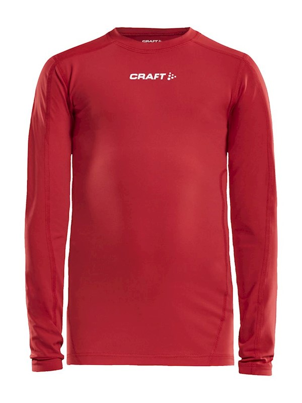 Craft Pro Control compression tee ls bright red 158/164