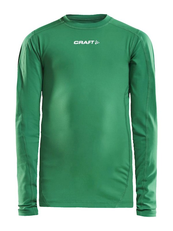 Craft Pro Control compression tee ls team green 134/140