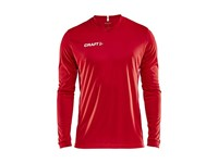 Craft Squad solid jersey LS men bright red xs