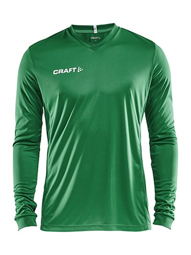 Craft Squad solid jersey LS men team green m