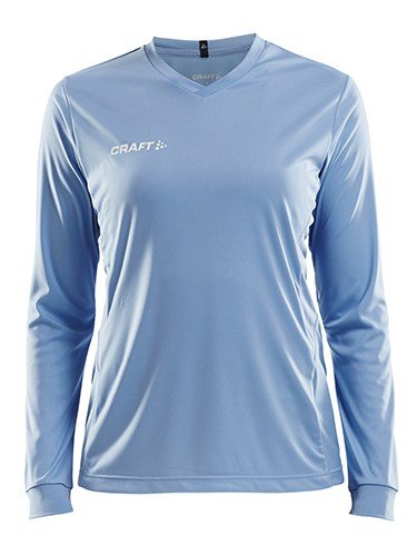 Craft Squad solid jersey LS wmn mff blue m