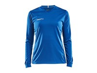 Craft Squad solid jersey LS wmn royal blue l