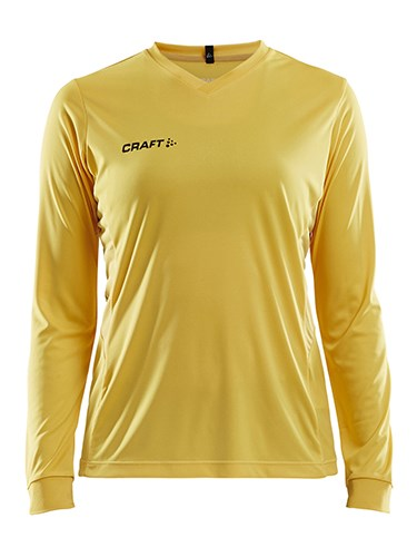 Craft Squad solid jersey LS wmn Swe. yellow xl