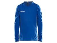 Craft Squad solid jersey LS jr royal blue 122/128