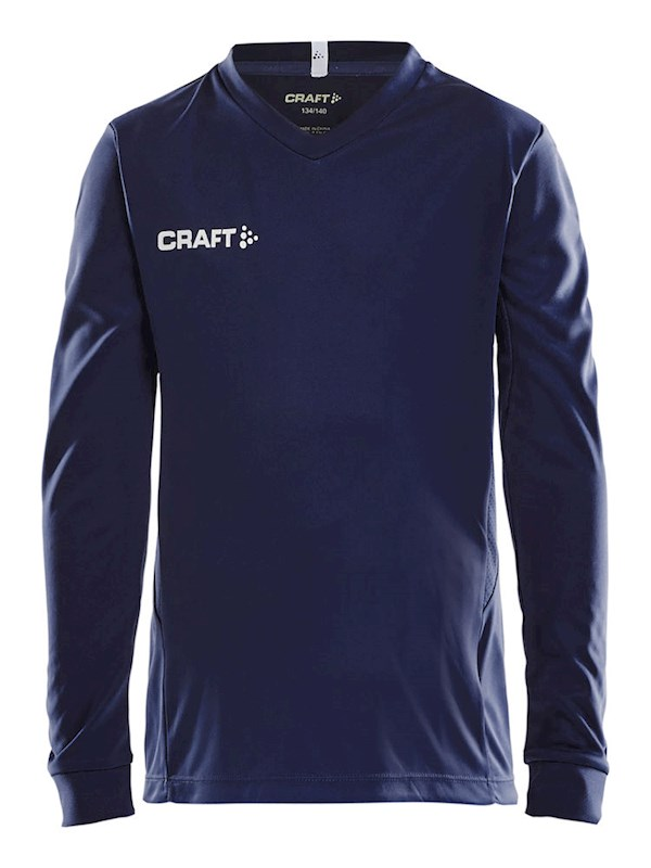 Craft Squad solid jersey LS jr navy 134/140