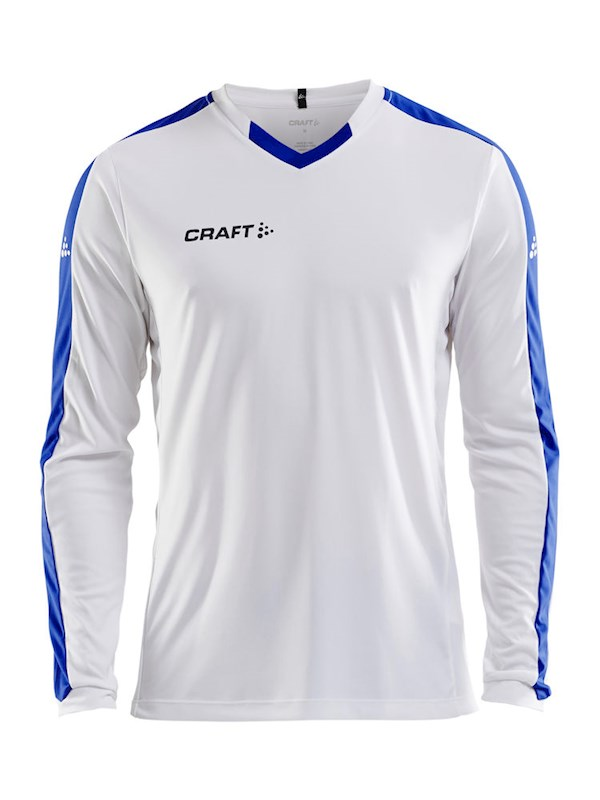 Craft Progress contrast jersey LS men white/cl co l