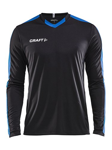 Craft Progress contrast jersey LS men black/royal m
