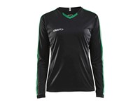 Craft Progress contrast jersey LS wmn bla/team gr s