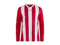 Craft Progress stripe jersey LS men br.red/white xxl