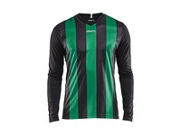 Craft Progress stripe jersey LS men bla/team gr s