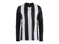 Craft Progress stripe jersey LS men black/white l