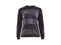 Craft Progress gk ls jersey w/o pad. wmn black s