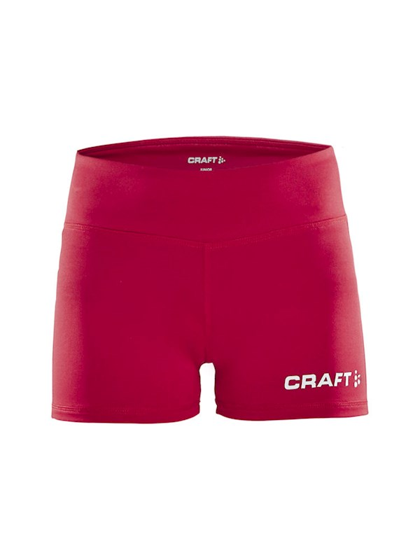 Craft Squad hotpants jr bright red 146/152
