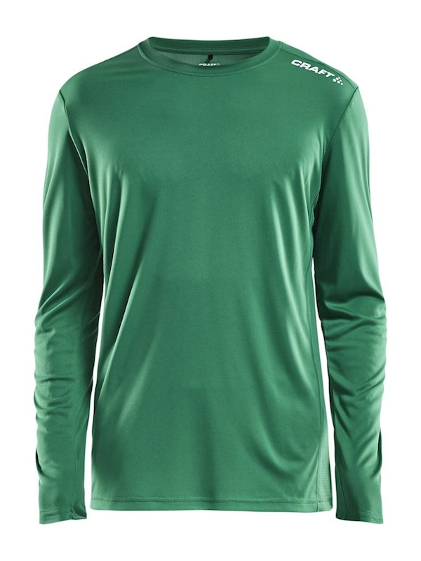Craft Rush LS tee men team green m