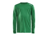 Craft Rush LS tee jr team green 158/164