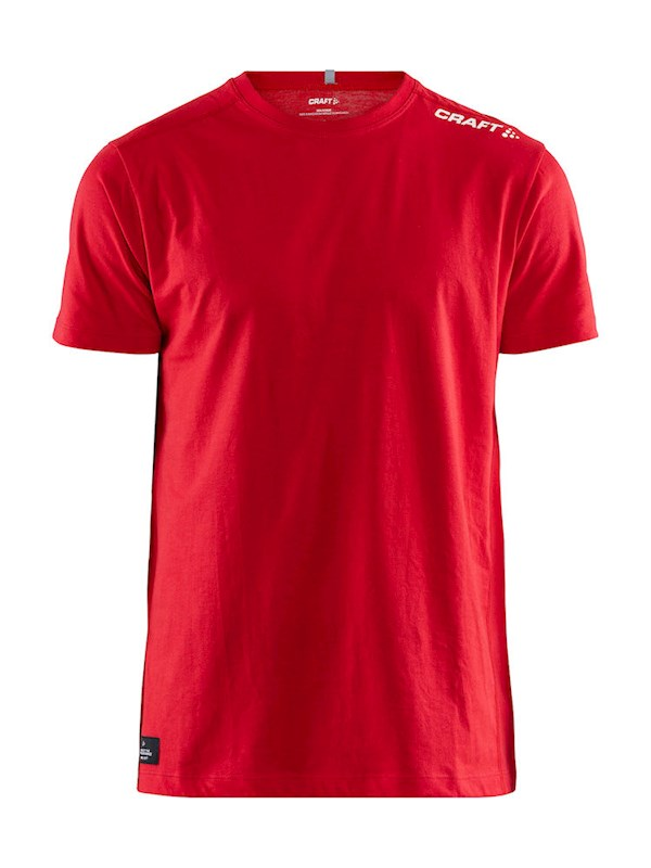 Craft Community mix ss tee men bright red s