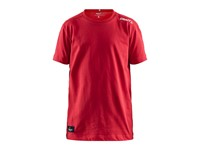 Craft Community mix ss tee jr bright red 146/152