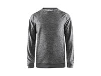 Craft Leisure crewneck men dk grey mel. l
