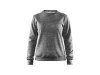 Craft Leisure crewneck wmn dk grey mel. xl