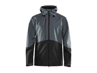 Craft Block shell jacket men asphaltblack xxl