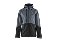 Craft Block shell jacket wmn asphaltblack l
