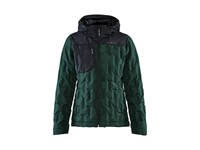 Craft Hybrid puffy jacket wmn pine/black xs