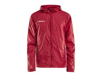 Craft Squad wind jacket jr bright red 146/152
