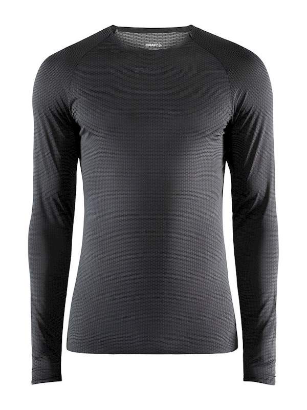 Craft Pro Dry Nanoweight ls men black xxl