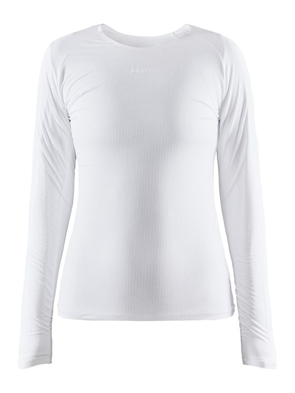 Craft Pro Dry Nanoweight ls wmn white xxl
