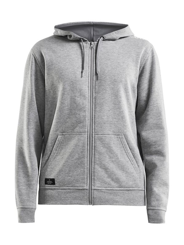 Craft Community fz hoodie men grey melange xl
