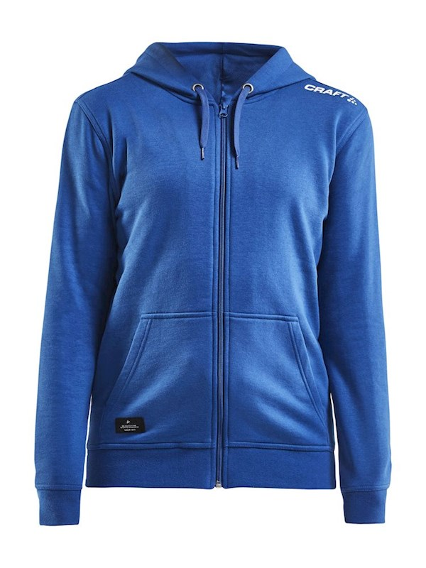 Craft Community fz hoodie wmn royal blue l