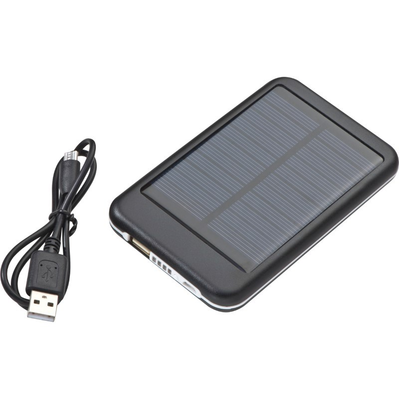 Solar metalen powerbank