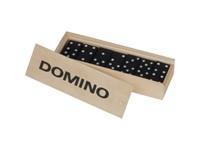 Dominospel in houten box