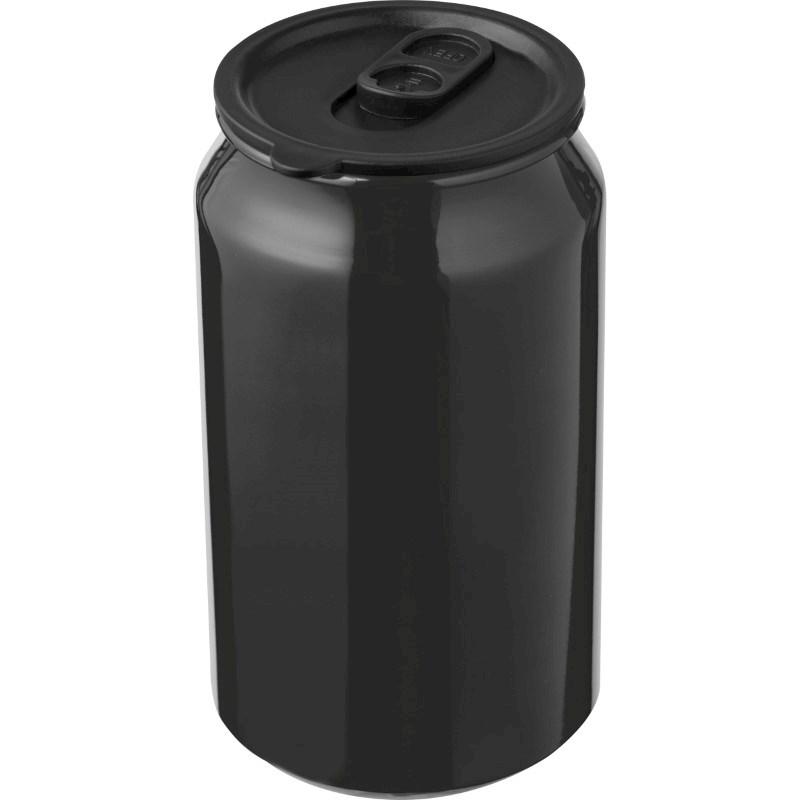 Aluminium drinkbeker in blikjesvorm