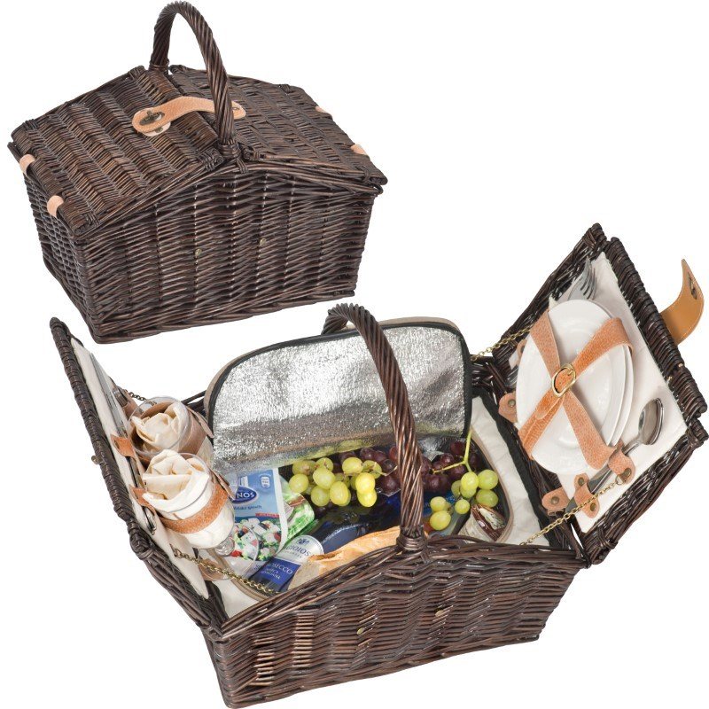 Picknickmand voor 2 personen