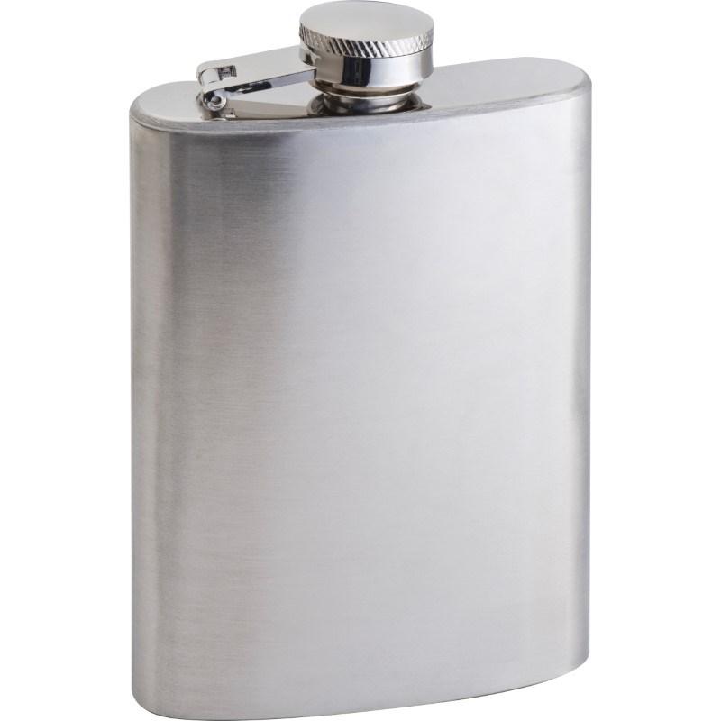 Heupfles metaal- 104 ml
