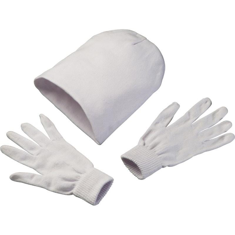 Set handschoenen en muts