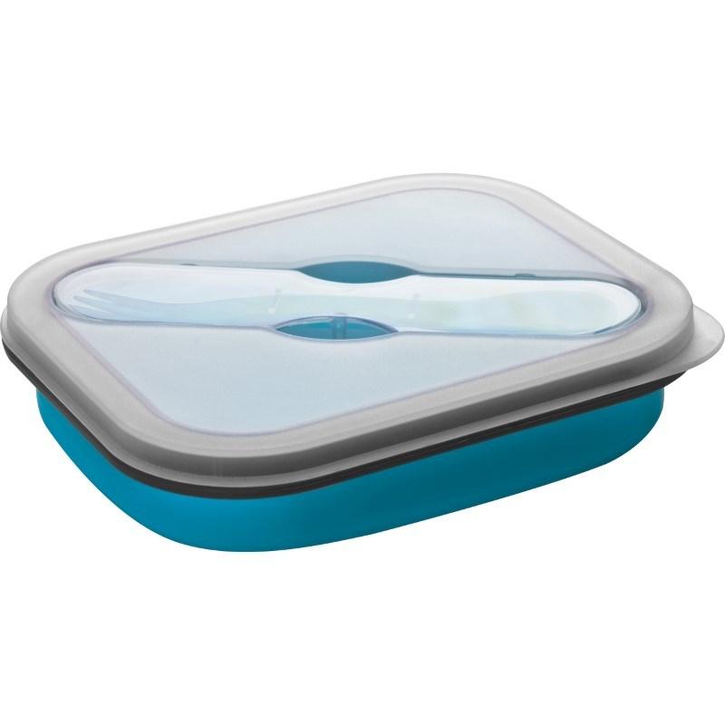 Opvouwbare silikone saladebox- klein
