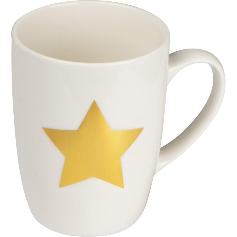 Kopje met ster opdruk
