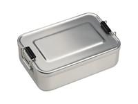 Lunchbox of broodtrommel van alumninium