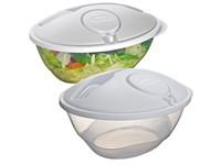 Salade box van kunststof