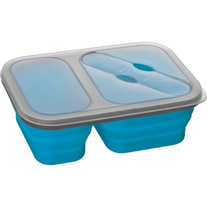 Opvouwbare silikone saladebox- groot