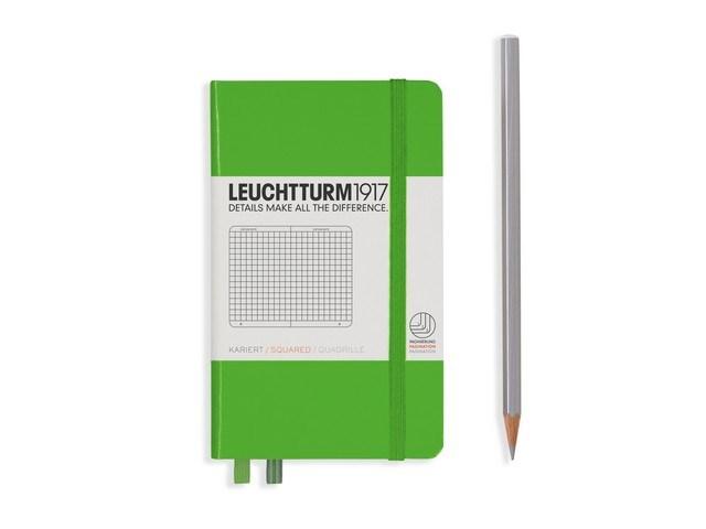 Leuchtturm1917 Hardcover Notitieboek, Pocket , geruit