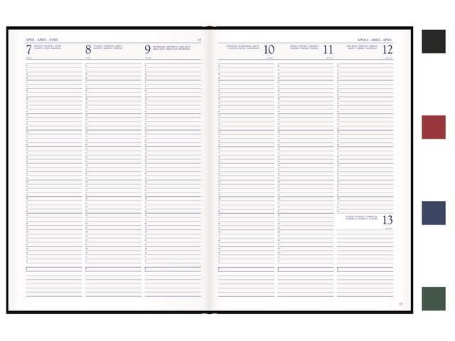Voyager A4 Luma bureau agenda