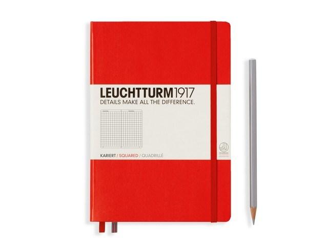 Leuchtturm1917 Hardcover Notitieboek, Medium, geruit