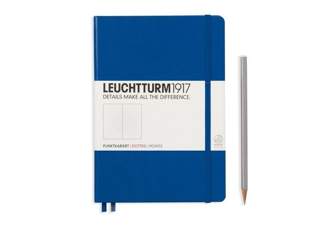 Leuchtturm1917 Hardcover Notitieboek, Medium, dotted
