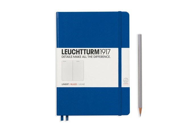 Leuchtturm1917 Hardcover Notitieboek, Medium, gelinieerd