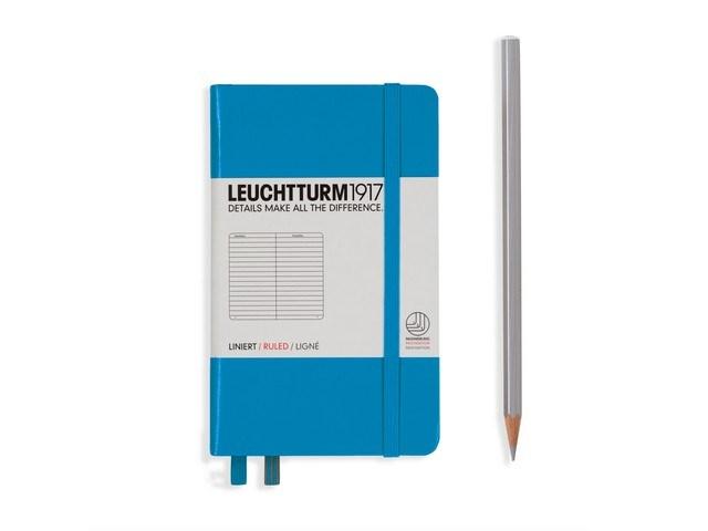 Leuchtturm1917 Hardcover Notitieboek, Pocket , gelinieerd